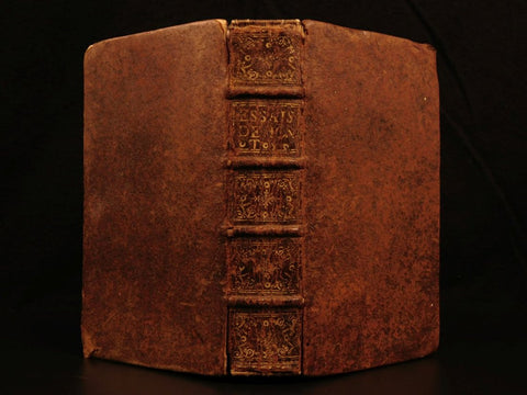 1659 Essays of Michel de Montaigne in French, 17th century ( 1600s )!!!