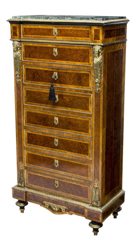 SECRETAIRE ABATTANT AFTER CHARLES DIEHL(1811-1885), 19th Century ( 1800s )