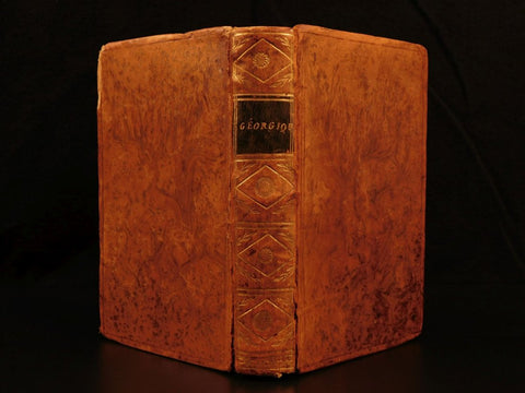 1780 Georgics VIRGIL Latin Poetry Agriculture Rustic,18th Century ( 1700s )