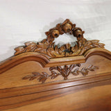 Antique Bed & Stand, Night / Side Table French Louis XVI Style, 19/20th C.!! - Old Europe Antique Home Furnishings