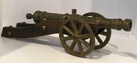 Unique Antique Decorative Spanish Cannon!!! - Old Europe Antique Home Furnishings