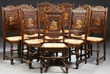 Exceptional French Provincial Thirteen Piece Hand, Carved Vintage/Antique!!! - Old Europe Antique Home Furnishings
