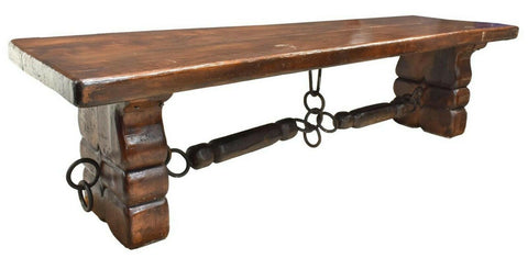 "Table, Plank Top, Continental, Large, 118"" L, Incredible and Functional! - Old Europe Antique Home Furnishings"