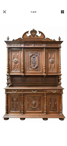 Henri II cabinet - Old Europe Antique Home Furnishings