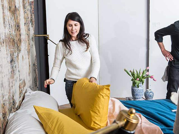 You Need Estee Stanley's Tips On Getting The Perfect Modern Bedroom