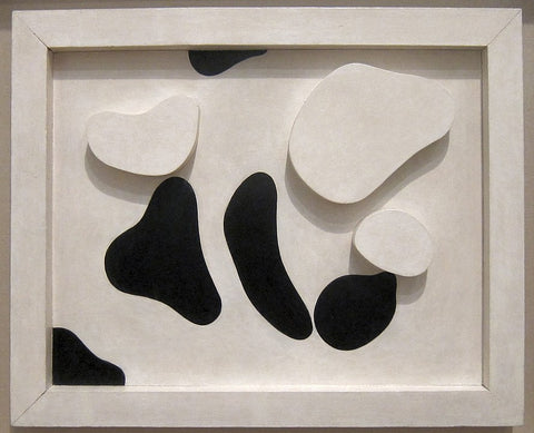 Constellation According to the Laws of Chance, Jean Arp; c. 1930