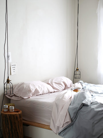anne sage with flaneur bedding, change the sheets, sage living