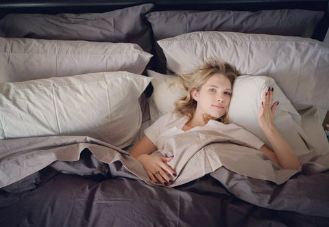 Claudia Lee with Flaneur bespoke bedding