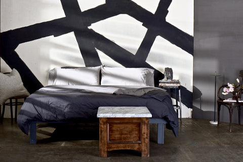 forbes interview with Flaneur bedding, change the sheets, estee stanley lookbook