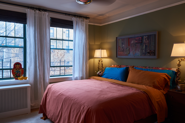 Complete look for Sophie Donelson in Flaneur bedding