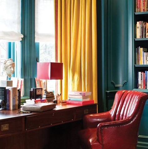 Red and Yellow Room