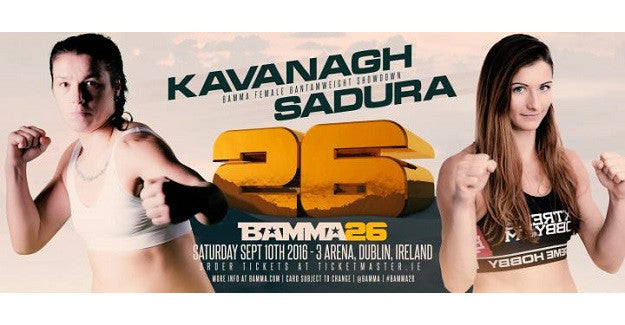 Manning vs. McErlean and Sinead Kavanagh added to BAMMA 26