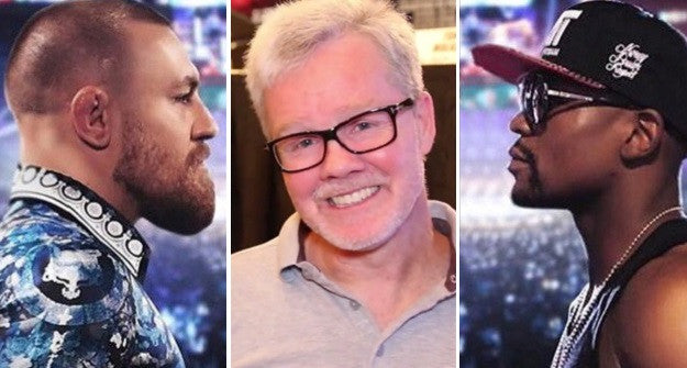 "[Video] Freddie Roach: it would ""be an honour"" to train McGregor for Mayweather"