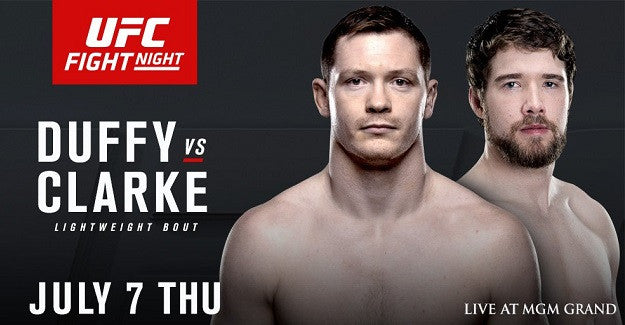 UFC Fight Night 90: Joseph Duffy vs. Mitch Clarke Preview