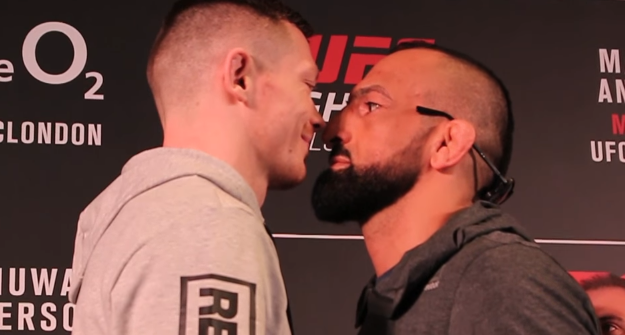 [Video] Joe Duffy & Gunnar Nelson UFC London Media Day Staredowns