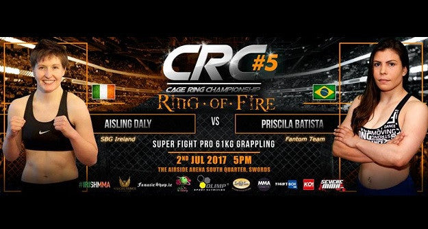 Ais Daly returns to competition at CRC 5 in Dublin