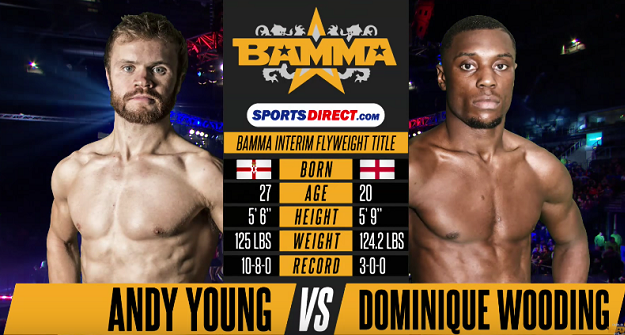 Free Fight: Andy Young vs. Dominique Wooding - BAMMA 28