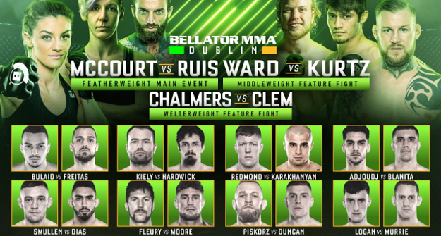 WATCH NOW - Bellator Dublin Prelims