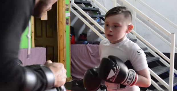Meet 8-year-old Martial Artist Ben Harding who is fighting in England soon