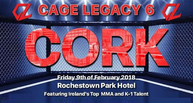 Cage Legacy 6 Fight Card