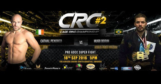Cathal Pendred vs. Hugo Borim ADCC Superfight announced for CRC 2