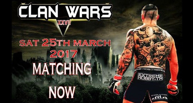 Clan Wars returns in March with a big pro title fight