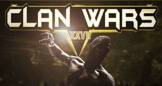 Clan Wars 27 Fight Card