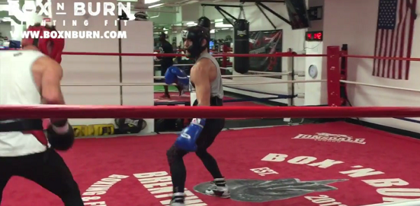 Watch Conor McGregor spar with former IBF champion in California