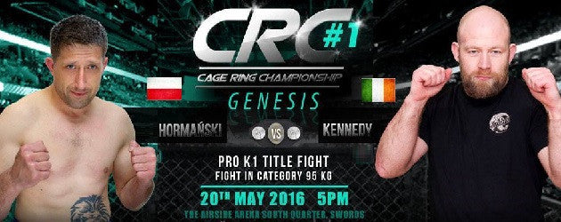 CRC #1 Fight Card