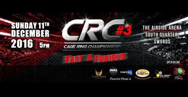 CRC 3 Fight Card: MMA, K-1, Boxing & Grappling