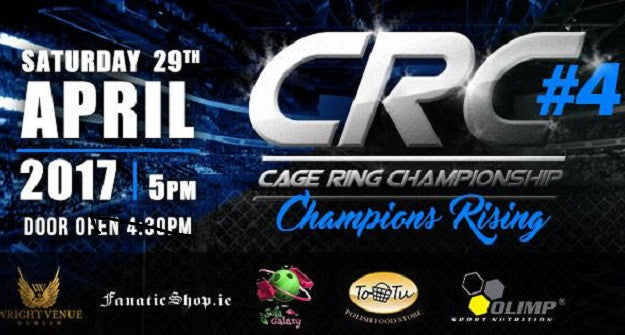 CRC 4 Fight Card: MMA, Muay Thai, K-1 & Grappling