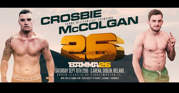McColgan vs. Crosbie finally happening at BAMMA 26