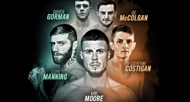 Moore, Manning, Costigan, McColgan & more confirmed for Cage Warriors Dublin