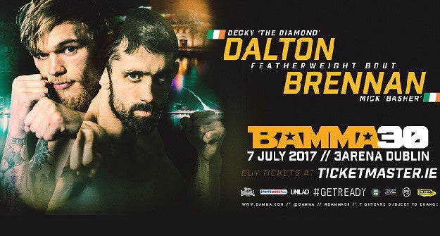 Decky Dalton vs. Mick Brennan added to BAMMA 30