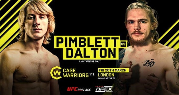 Decky Dalton faces Paddy Pimblett at Cage Warriors 113