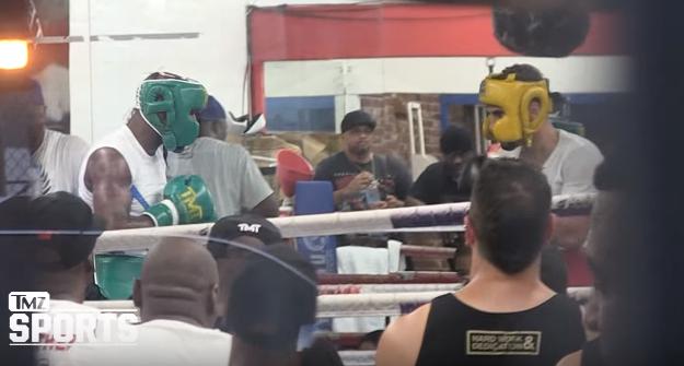 [Video] Secret footage of Floyd Mayweather sparring