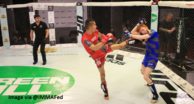 Live results from the IMMAF Euros Quarter Finals