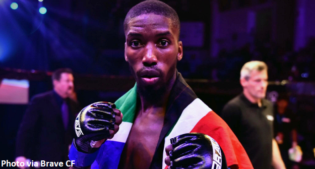 Frans Mlambo in title contender fight at Brave CF 10
