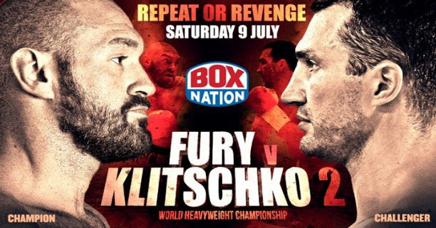 Fury vs. Klitschko II set for July 9th in Manchester Arena.