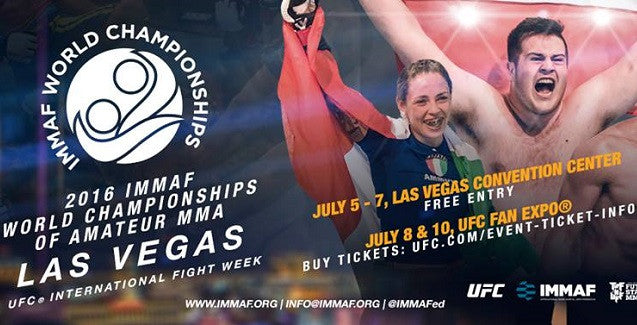 Irish MMA's Draw for Day 1 of the IMMAF World Championships