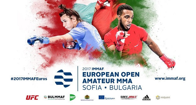 Irish MMA opening fixtures at the IMMAF Euro Championships in Bulgaria