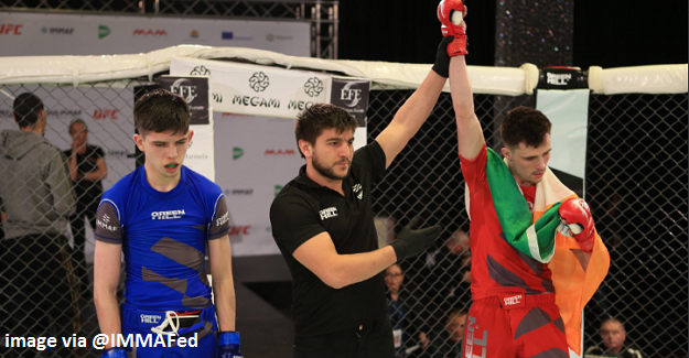 Live Results for Irish MMA at IMMAF Euro Championships