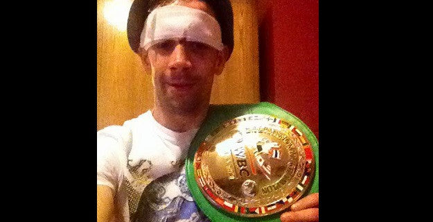 James O'Connell wins the WBC International Title