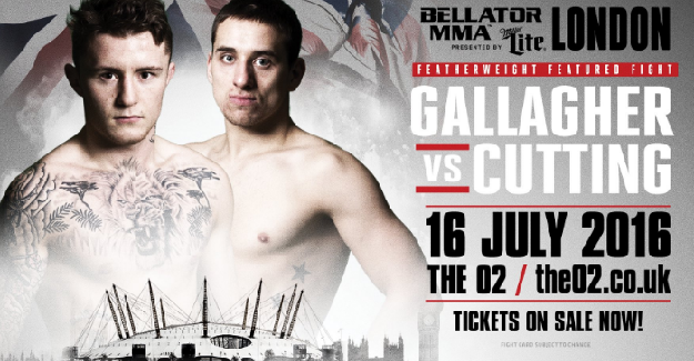 James Gallagher added to Bellator London