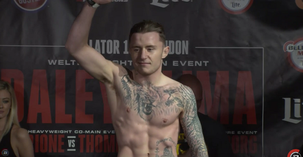 Should James Gallagher be bumped to Bellator 173 main event?