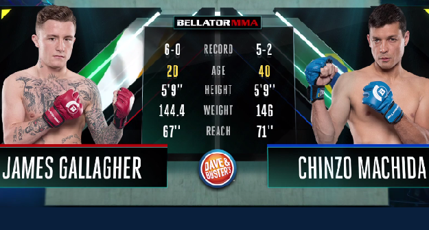 James Gallagher vs. Chinzo Machida - Full Fight