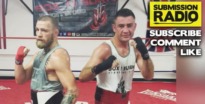 Van Heerdan talks about sparring with Conor McGregor and his boxing potential