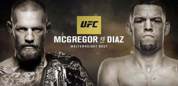 Official: Conor McGregor vs. Nate Diaz II set for UFC 202