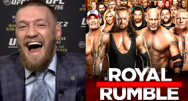 Bet on Conor McGregor to win the Royal Rumble