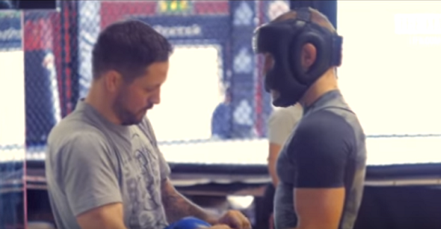 [Video] Conor McGregor training ahead of UFC 202
